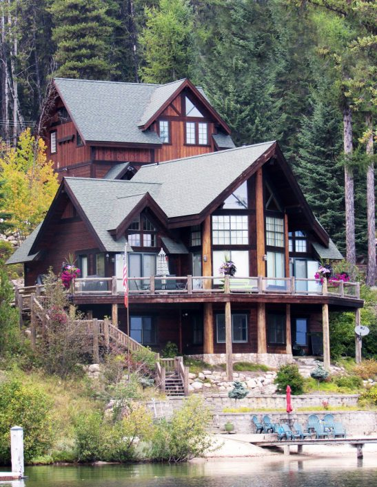 Priest Lake Custom Home by Copper Bay Construction