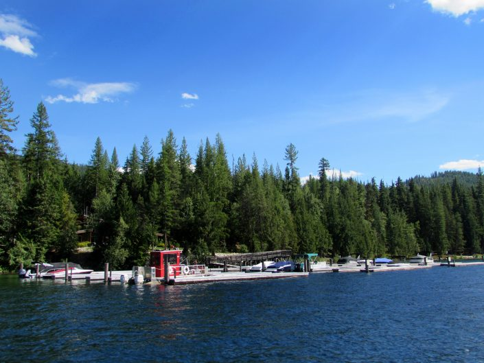 Huckleberry Bay Dock