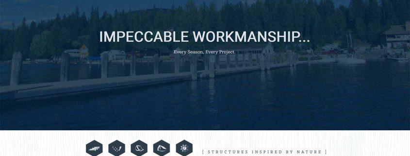 Copper Bay Construction company website